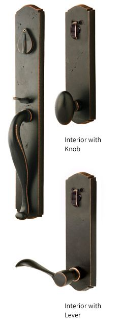 Sure Loc Door Hardware   Wasatch Sandcast Entrance Handleset