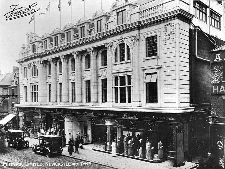 Fenwick Department Store in Newcastle upon Tyne around 1900