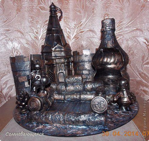Макет модель День рождения Моделирование конструирование Я не оригинальна или Замок-органайзер для хорошего парня фото 1