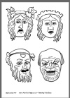 8 best Teaching: Masks and Mask Templates images on