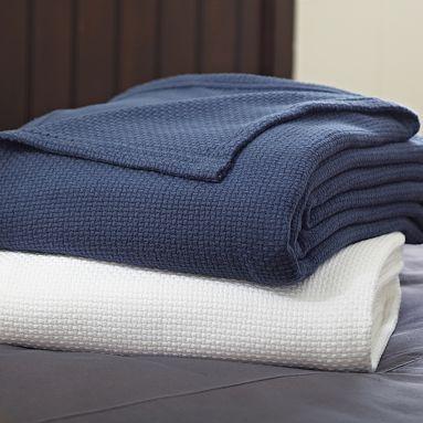 PBteen Classic Cotton Blanket