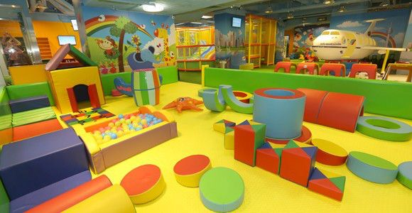 From an indoor playground in Singapore to a forest-themed oasis in Los Angeles to a baby lounge in Paris, the play spaces on our list will rock baby's world.