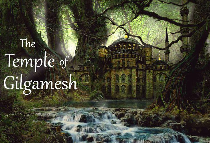 In Ancient Mesopotamia, Atria treks through the treacherous Cedar Forest to find the temple of the legendary Gilgamesh... (Illustration for Scene 4.5: The Avatar)