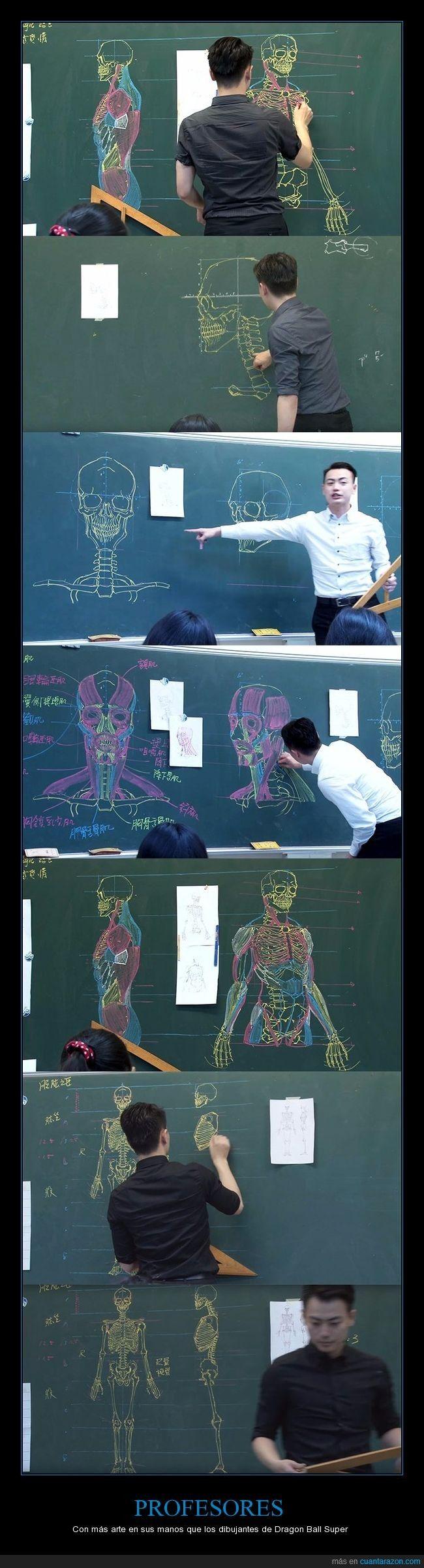 Profesor crea auténticas obras de arte en su clase de biología - Con más arte en sus manos que los dibujantes de Dragon Ball Super   Gracias a http://www.cuantarazon.com/   Si quieres leer la noticia completa visita: http://www.estoy-aburrido.com/profesor-crea-autenticas-obras-de-arte-en-su-clase-de-biologia-con-mas-arte-en-sus-manos-que-los-dibujantes-de-dragon-ball-super/