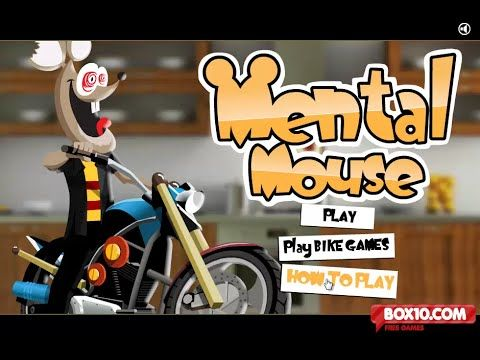 Mental Mouse Game - Craziest Mental Mouse Motorbike Games