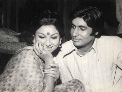 with SHARMILA TAGORE
