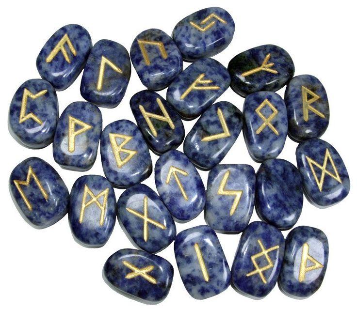Lapis Lazuli Runes Set