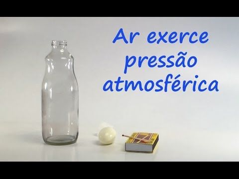 [ Experimento ] E004 Propriedades do Ar / Pressão atmosférica II - YouTube