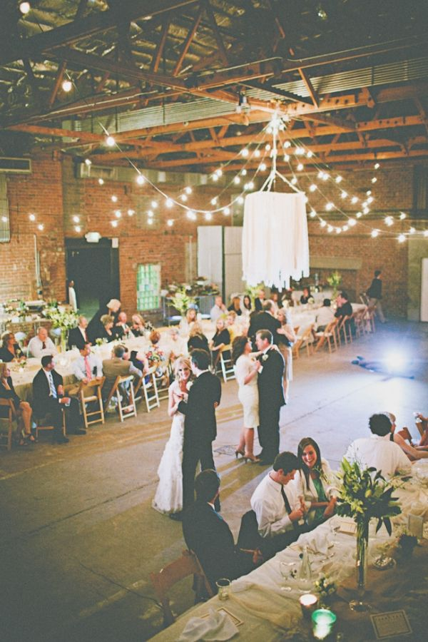 Tyler + Lauren DIY Industrial Wedding