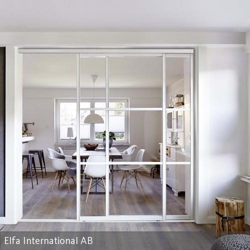 Ponad 20 najlepszych pomysłów na Pintereście na temat Glaswand Küche - offene kueche wohnzimmer abtrennen glas