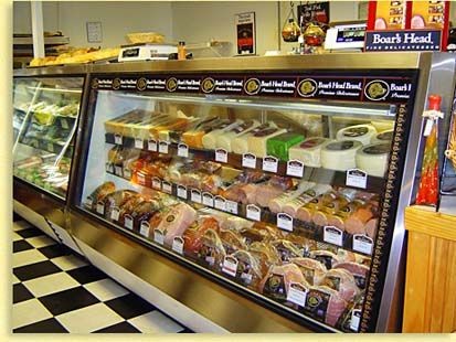 What supermarkets carry the Boar's Head brand of lunch meats?