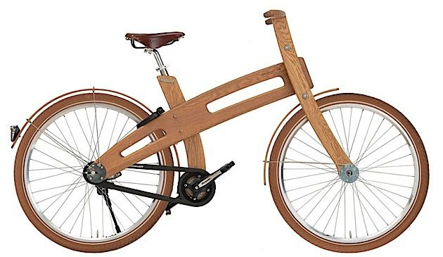 This wooden bike's a looker | dailybri