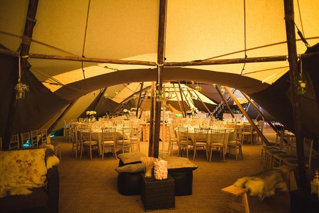 A beautiful sunny Spring wedding using Papakata teepees - photography by S6 Photography at s6photography.co.uk