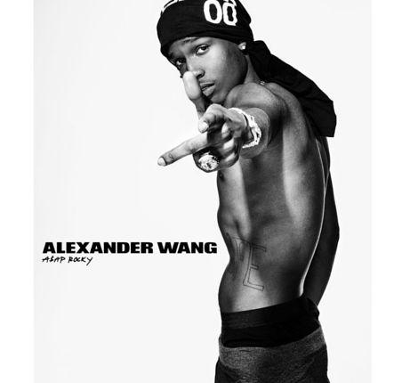 Kampania Alexander Wang DOSOMETHING z gwiazdami! ASAP Rocky