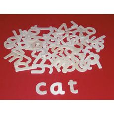 Ideal for learning correct letter formation and how to use upper case letters, as well as being a useful resource for whole-class spelling games. Size: 45mm height. Pack of approx. 60.