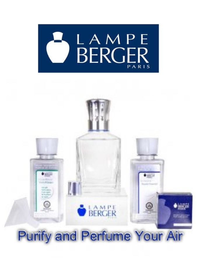 Fancy Lampe Berger Starter Kit A great introduction to home Air Care A square