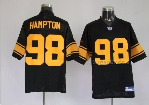 http://www.xjersey.com/pittsburgh-steelers-98-casey-hampton-black-yellow-number-jerseys.html Only$34.00 PITTSBURGH STEELERS 98 CASEY HAMPTON BLACK YELLOW NUMBER JERSEYS #Free #Shipping!