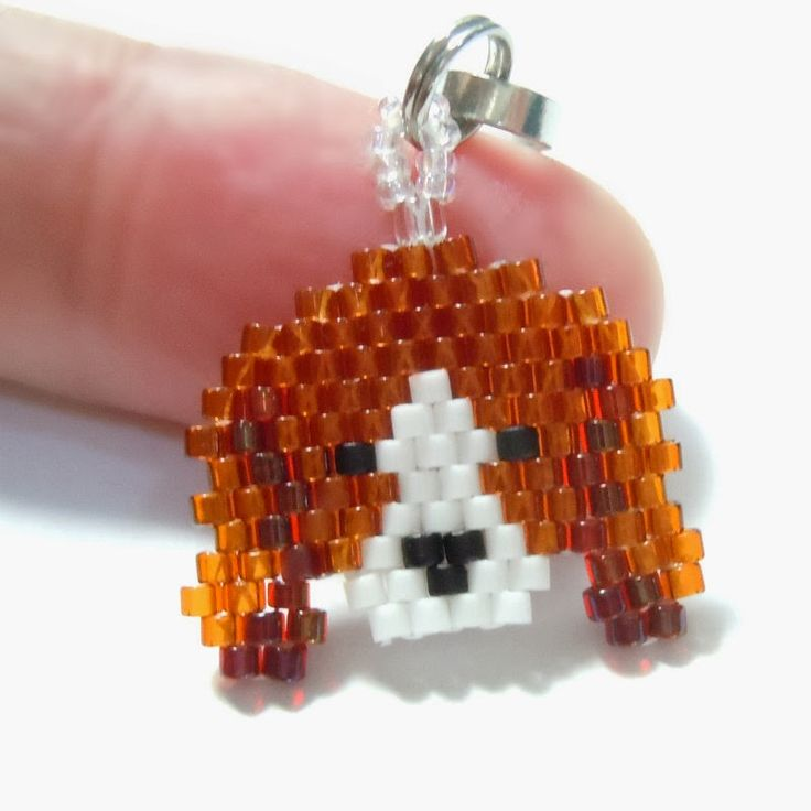 Seed Bead Patterns, Bead Woven Charms and Bead Woven Jewelry.