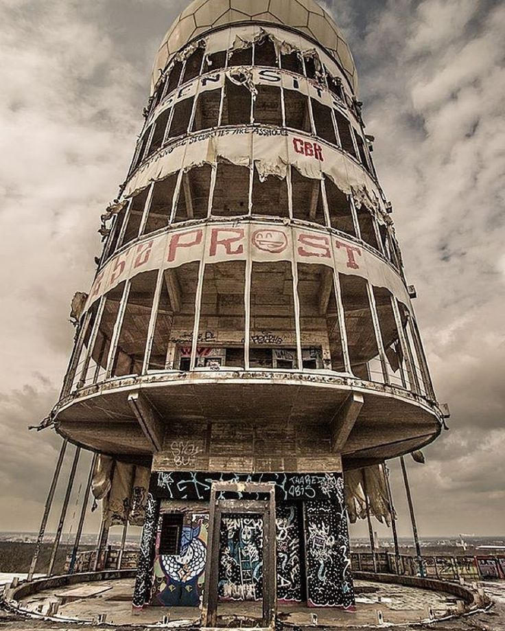 """Abandoned Radio Station In Berlin, Germany Used By The"