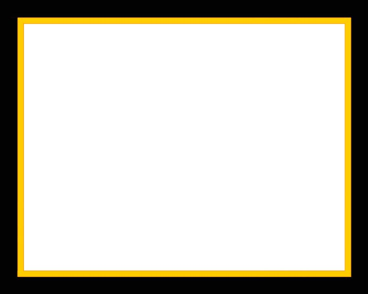 black border png | Black Frame with darker yellow-gold border and stroke | chonzskypedia