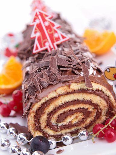 Recette Bûche de Noël chocolat orange