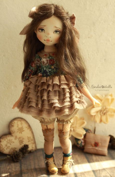 Lolit - GeshaDolls-авторские куклы Евгении Драгиной                                                                                                                                                                                 More
