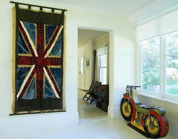 The 25 best union jack decor ideas on pinterest union for Decoration murale union jack