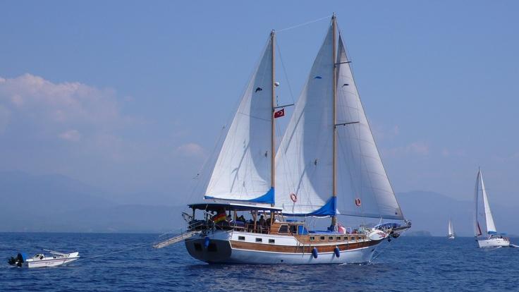 sailing gulet..