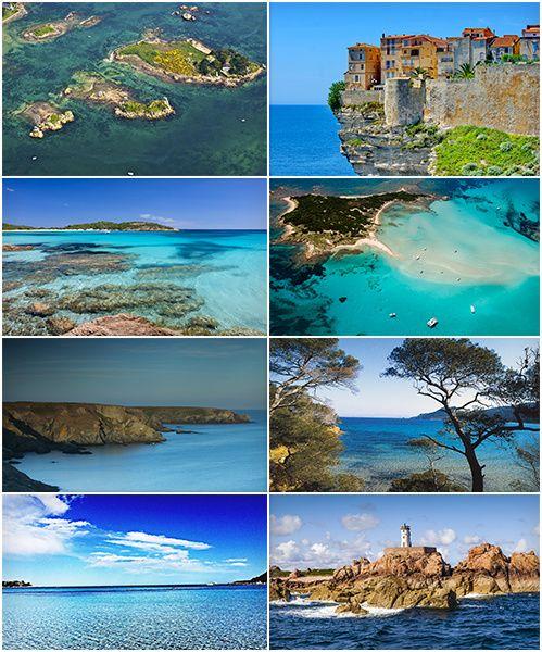 Les plus belles îles en France Corse Porquerolles Belle Ile  http://www.vogue.fr/voyages/hot-spots/diaporama/les-plus-belles-les-en-france/21878