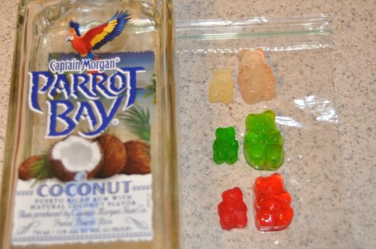 how to make rummy bears