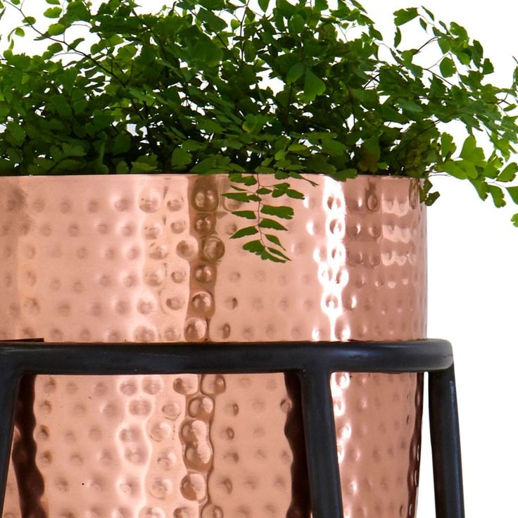Large Copper Plant Stand | New Arrivals | Homeware - Me and My Trend