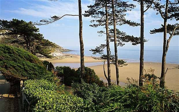 Caswell Bay, Gower, Wales. Had several holidays here when I was a child. It was a great place for a family beach holiday