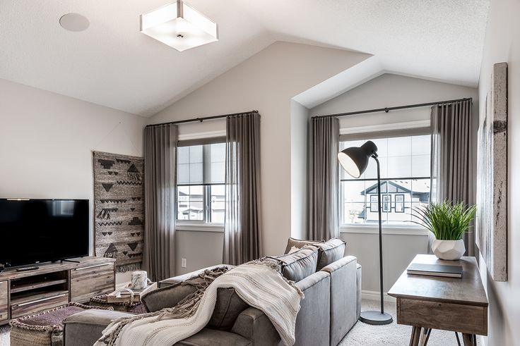 The vaulted ceilings give this home such a luxury look.