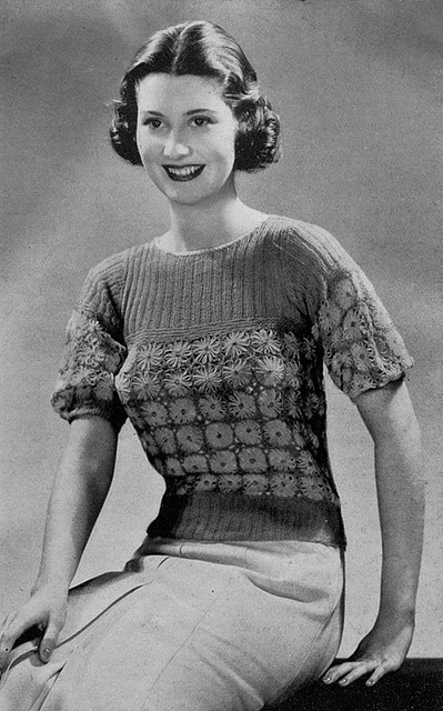 39 Best Vintage Knitting Images On Pinterest Knitting Patterns