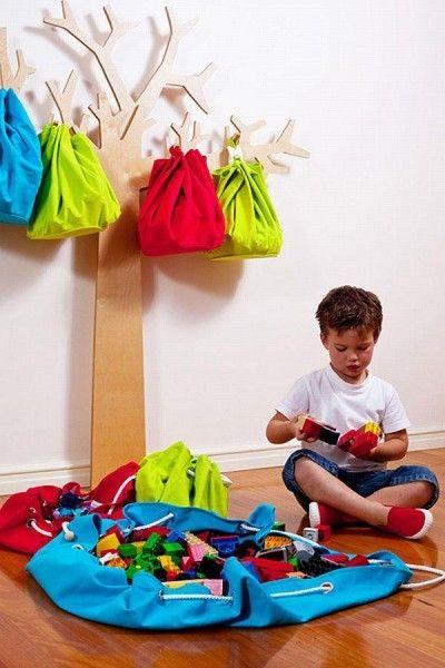 espacios chicos ideas para guardar juguetes - Buscar con Google