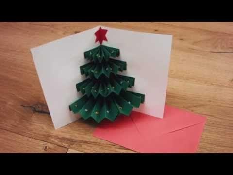 Une jolie carte de Noël simple à faire
