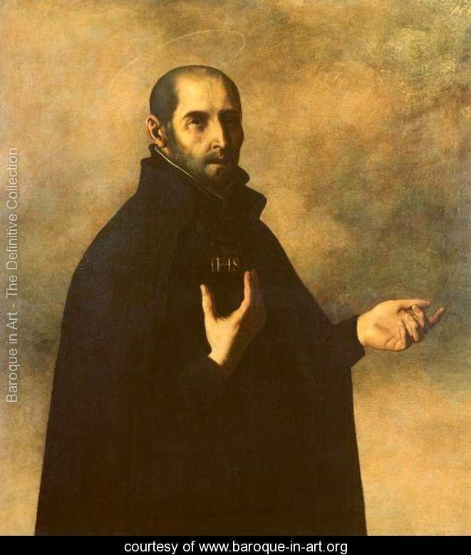 St.Ignatius Loyola - Francisco De Zurbaran -