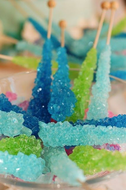 How To: Rock Candy Experiment. Great to do with kids during winter vacation!
