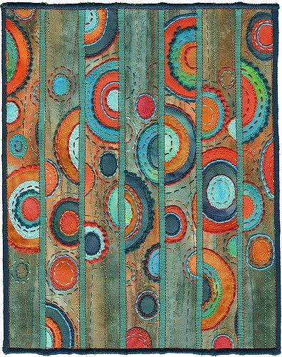 Toutes les tailles   Patina, contemporary abstract textile   Flickr: partage de photos!