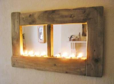 Irish Driftwood Mirror Cottage Window mirror eco by TheIrishBarn, £100.00