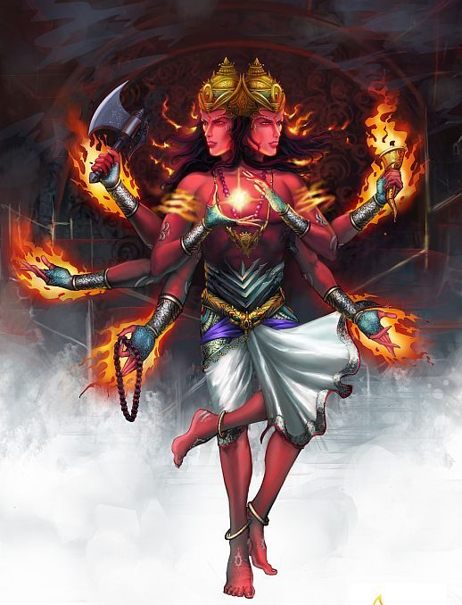 Fire worshipped as God Agni in Vedas, Xiuhtecuhtli by Aztecs, Manco Capac by Incas, Yahweh in Judaism, Goddess Vesta in Rome, Atar by Parsis, Surtr in Norse, Svarog in Slavic Mythologies