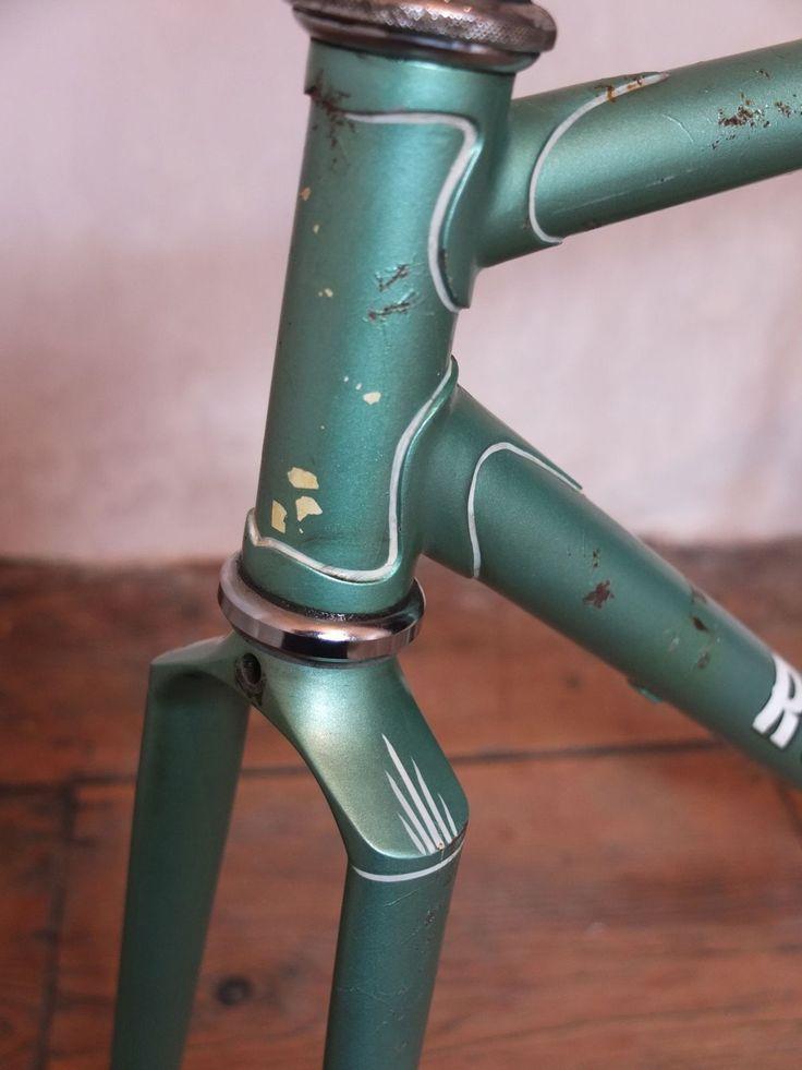 Vintage R.J. Quinn Hand-built Lightweight Steel Bike Frame/Forks Campagnolo   eBay