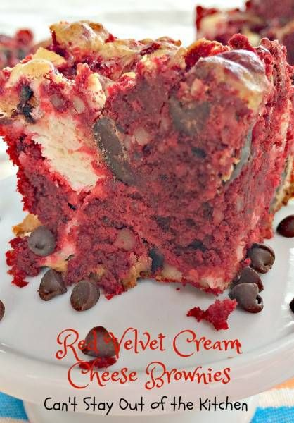 Red Velvet Cream Cheese Brownies - IMG_6805.jpg | Holiday baking ...