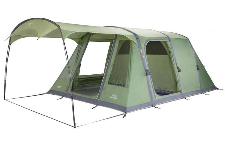 Vango Solaris 500 5 Person Airbeam Family Tent & Footprint