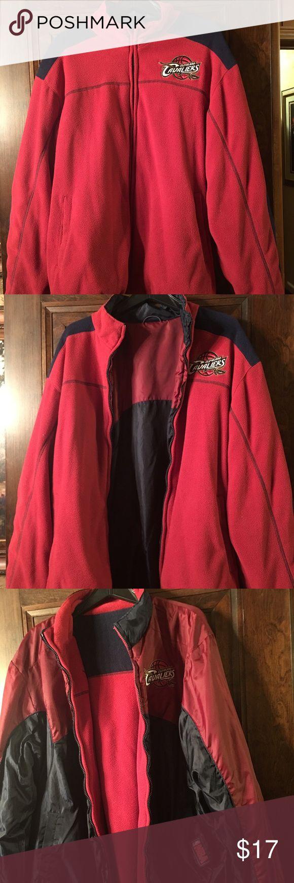 Cleveland Cavaliers reversible fleece size xl Size xl reversible fleece nba brand in gently used great condition nba Shirts Sweatshirts & Hoodies