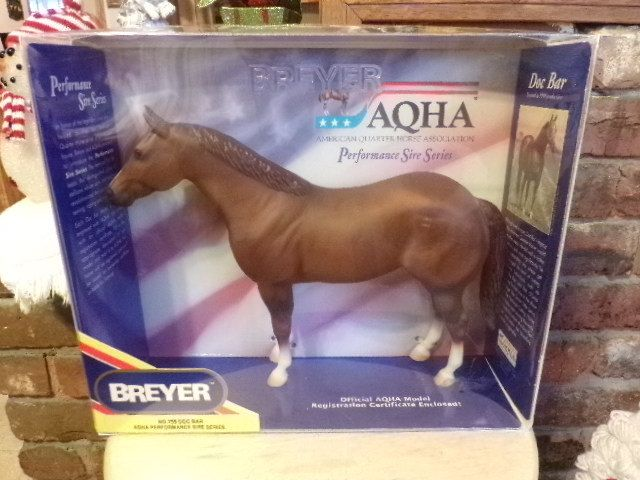 Breyer New in box collectible horse from 1990, Doc Bar Breyer Horse, Sire Series Breyer Horse by Morethebuckles on Etsy