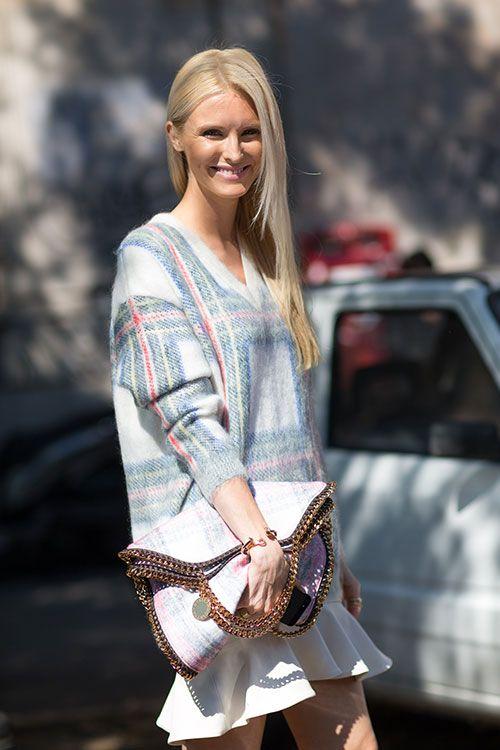 Milan Street Style Spring 2014 Kate Davidson Hudson