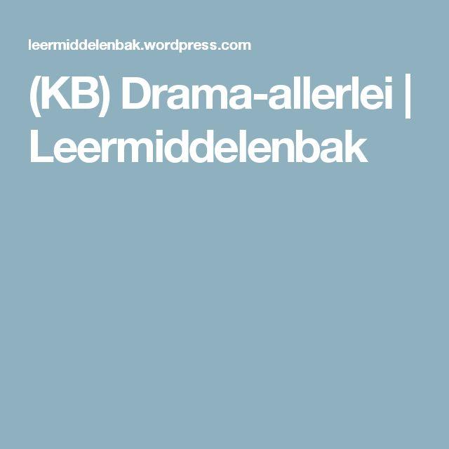 (KB) Drama-allerlei   Leermiddelenbak