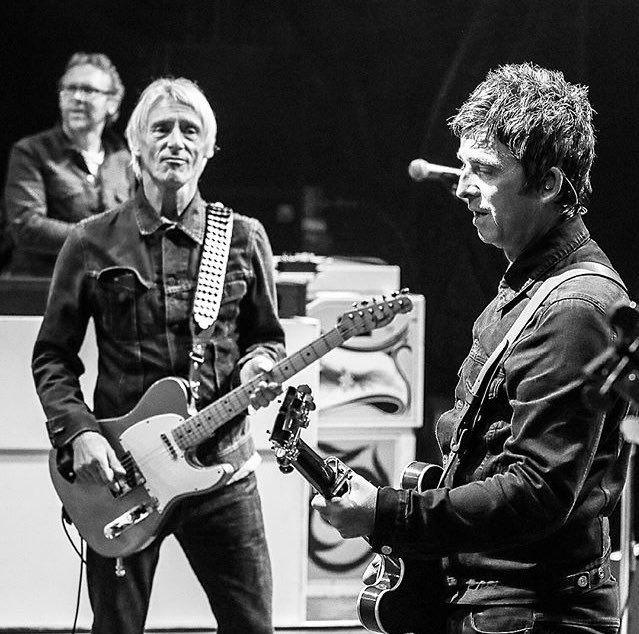 Noel Gallagher and Paul Weller