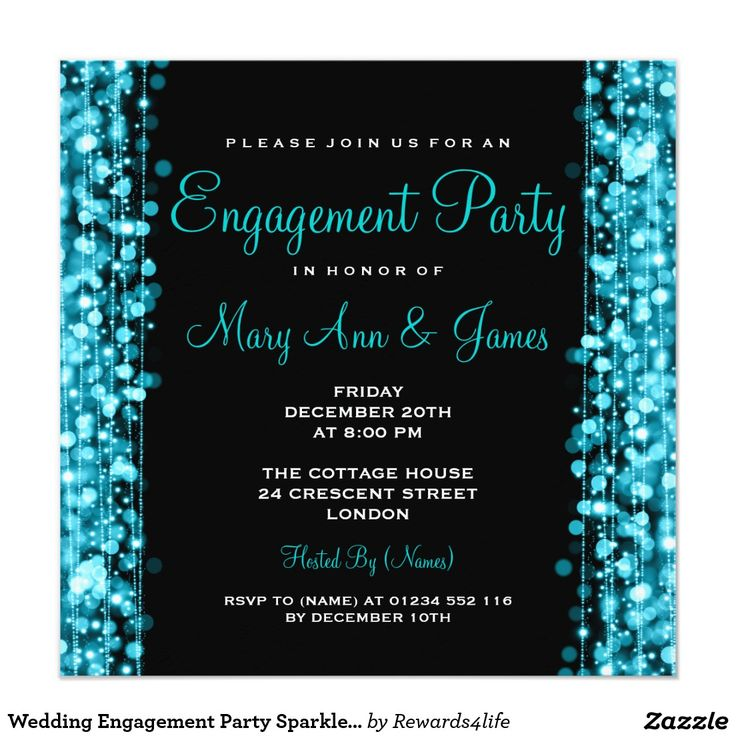 9 best engagement invitation images on Pinterest Engagement - engagement invite templates